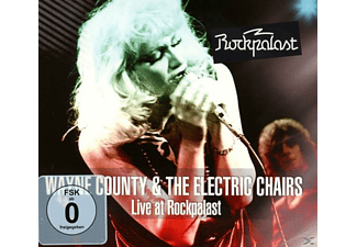 Wayne & The Elect County - Live At Rockpalast (1978) - (DVD)