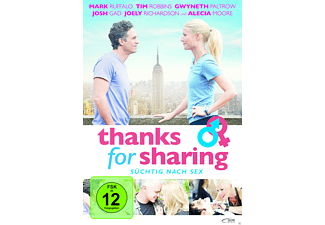 THANKS FOR SHARING - SÜCHTIG NACH SEX - (DVD)