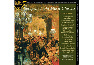 The New London Orchestra - European Light Music Classics - (CD)