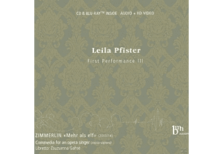 Leila Pfister - Beethoven Early Works - (CD + Blu-ray Disc)