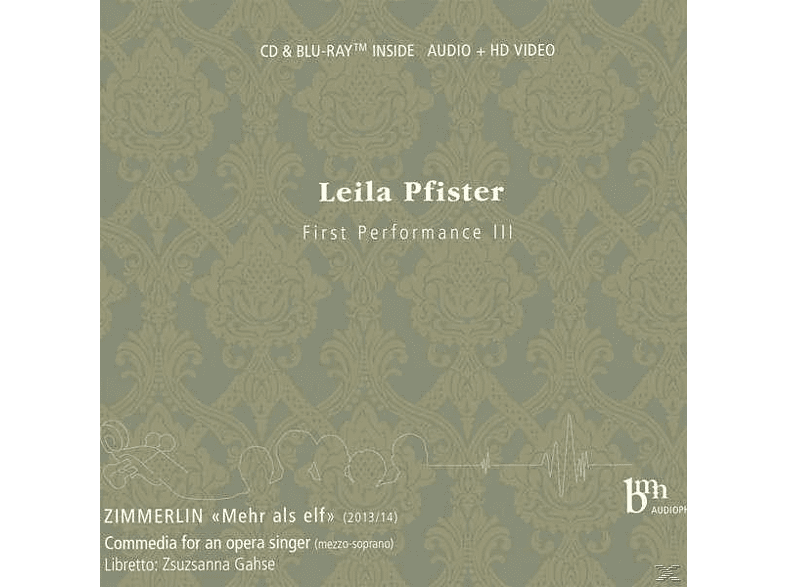 Pfister Leila - Beethoven Early Works [CD + Blu-ray Disc]