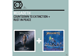 Megadeth - 2 For 1: Countdown To Extinction/Rust In Peace - (CD)