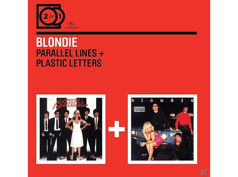 Blondie - 2 For 1: Parallel Lines/Plastic Letters [CD]
