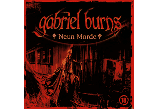 Gabriel Burns 18: Neun Morde - 1 CD - Krimi/Thriller