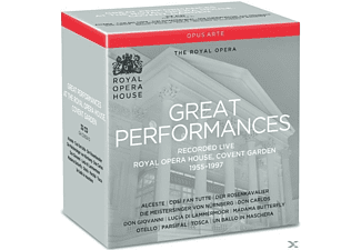 The Royal Opera House - Great Performances - (CD)