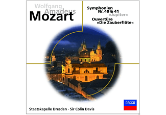 VARIOUS - MOZART-SINFONIEN 40 & 41 JUPITER - (CD)