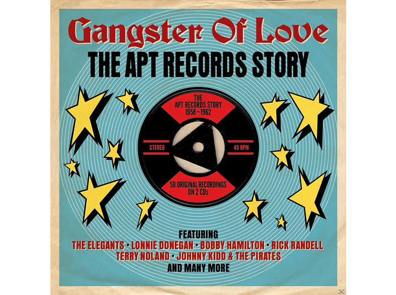 VARIOUS - Gangsters Of Love-Apt Records Story 1958-1962 [CD]