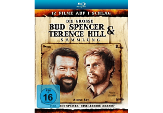 Die große Bud Spencer & Terence Hill Blu-ray Sammlung - (Blu-ray)