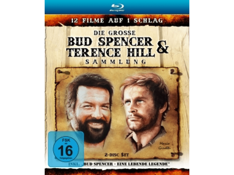Die große Bud Spencer & Terence Hill Blu-ray Sammlung  [Blu-ray]