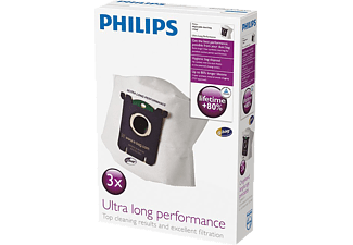 PHILIPS FC 8027/01 S-Bag Ultra Long Performance, 3 Staubbeutel