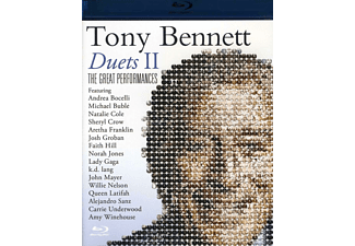Tony Bennett - DUETS II - THE GREAT PERFORMANCES - (Blu-ray)