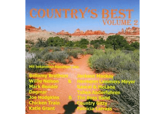 VARIOUS - Country's Best Vol.2 [CD]