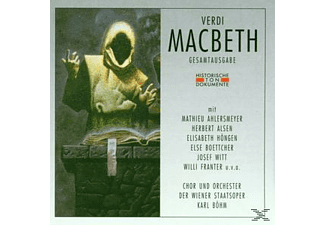 Giuseppe Verdi - Macbeth (Ga, Deutsch) - (CD)