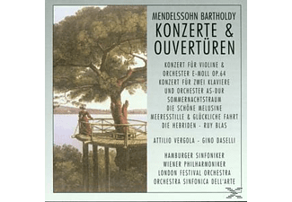 Wp, Hamburger Sinfoniker - Konzerte & Ouvertüren - (CD)