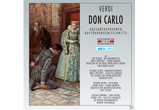 Chicago, Chorus & Orch.Of The Royal Opera House - Don Carlo-Mp 3 Oper [MP3-CD]