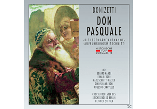Chor & Orchester Des Reichssenders Berlin - Don Pasquale - (CD)