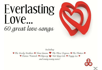 VARIOUS - Everlasting Love - 60 Great Love Songs [CD]
