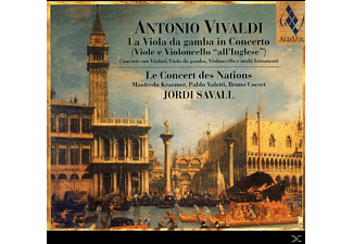 Jordi Savall, Le Concert Des Nations - La Viola Da Gamba In Concerto - (CD)