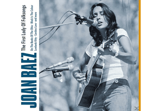 Joan Baez - First Lady Of Folksongs - (CD)
