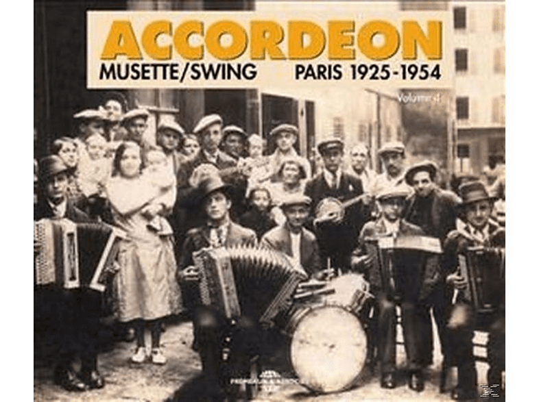 VARIOUS, Viseur,Gus/Murena,Tony/Vacher,Emile/Oprivat,Jo/+ - Musette/Swing-Paris 1925-1954 [CD]