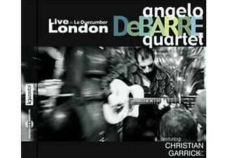 Angelo Debarre Quartet - Live In Le Quecumbar, London - (CD)