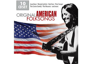 Baez,Joan/Guthrie,Woody/Seeger,Pete/+ - Original American Folksongs - (CD)