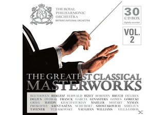 VARIOUS, Royal Philharmonic Orchestra - The Greatest Classical Masterworks [CD]