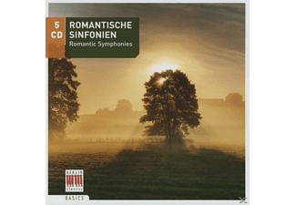 Various Composers, Various Orchestras & Soloists - Romantische Sinfonien 5 Cd Set - (CD)