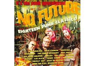 VARIOUS - Eighteen Punk Classics-No Future - (CD)