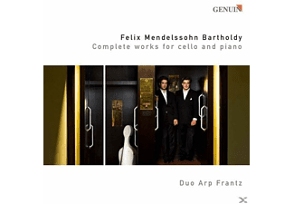 Duo Arp Frantz - COMPLETE WORKS FOR CELLO AND PIANO - (CD)