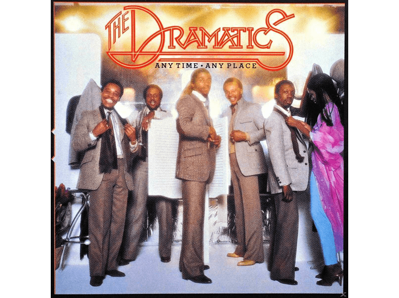 The Dramatics - Anytime,Anyplace [CD]