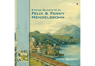 Merel Quartet - String Quartets By Felix & Fanny Mendelssohn - (CD)