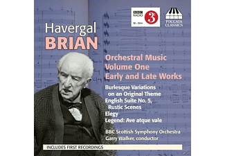 Garry Walker, VARIOUS - Brian Orchestral Music Vol.1 - (CD)
