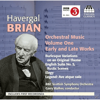 Garry Walker, VARIOUS - Brian Orchestral Music Vol.1 [CD]
