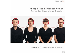 sonic.art Saxophone Quartet - Works For Saxophone Quartet - (CD)
