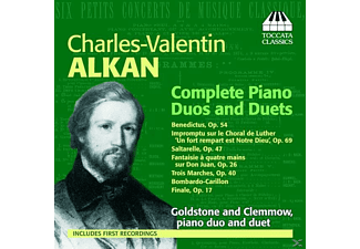 Anthony Goldstone, Caroline Clemmow - Alkan Piano Dous And Duets Cpl. - (CD)