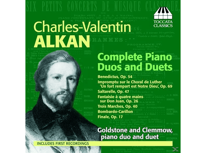 Anthony Goldstone, Caroline Clemmow - Alkan Piano Dous And Duets Cpl. [CD]