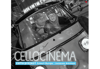 Eckart Runge, Ammon Jaques, Cello Project - Cellocinema - (CD)