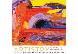 Kim Richmond Concert Jazz Orchestra - Artistry: A Tribute To Stan Kenton - (CD)