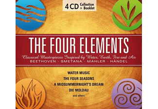 Fischer-Dieskau/Haskil/Karajan/Gieseking/+ - The Four Elements-Water, Earth, Fire & Air - (CD)