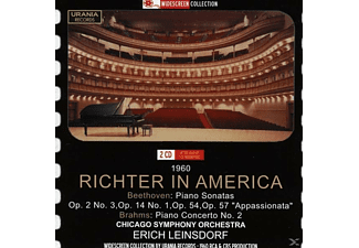 Chicago Symphony Orchestra, Richter/Leinsdorf/Chicago SO - Svjatoslav Richter in Amerika - (CD)