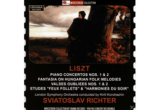 London Symphony Orchestra Richter, Swjatoslaw/kondrashin/london So Richter - Richter spielt Liszt - (CD)