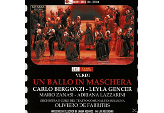 BERGONZI, GENCER, ZANASI, LAZZARINI, Bergonzi/Zanasi/Gencer/Lazzarini/Gatta/Bordoni/+ - Un ballo in maschera - (CD)