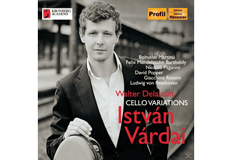 Vardai,Istvan/Delahunt,Walter - Cello Variations - (CD)