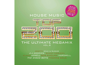 VARIOUS - House Top 200 - The Ultimate Megamix Vol. 8 - (CD)