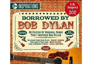 VARIOUS - Borrowed By Bob Dylan [CD]