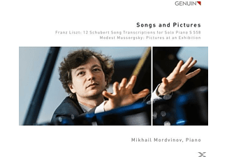 Mikhail Mordvinov - Lieder und Bilder-Pictures at an Exhibition/+ - (CD)