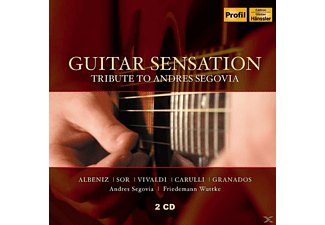 Segovia,Andres/Wuttke,Friedemann - Guitar Sensation - (CD)