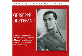 Guiseppe Di Stefano - Famous Voices Of The Past - (CD)