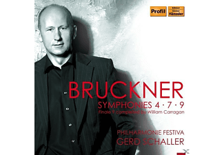 Philharmonie Festiva, Carragan William - Bruckner - Symphonies 4-7-9 - (CD)